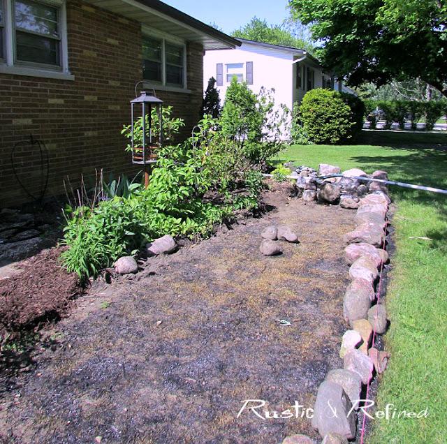 Enlarging a garden bed
