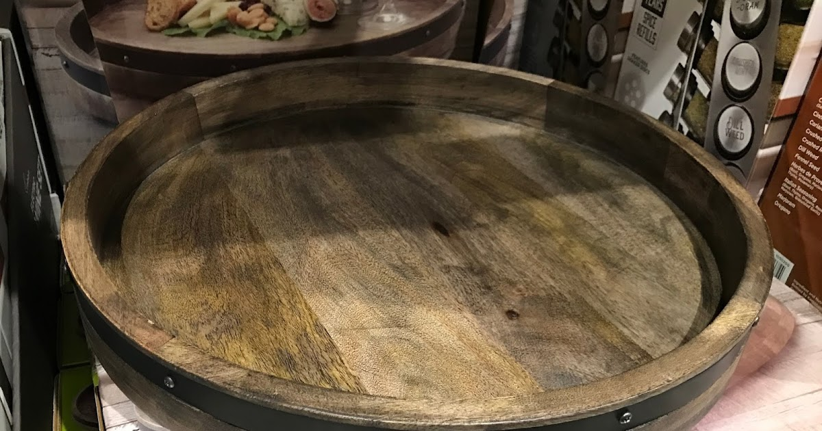 Towle Wood And Iron Lazy Susan Costco Weekender