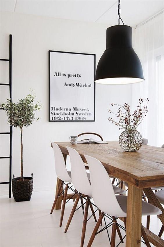 Lámparas en color negro