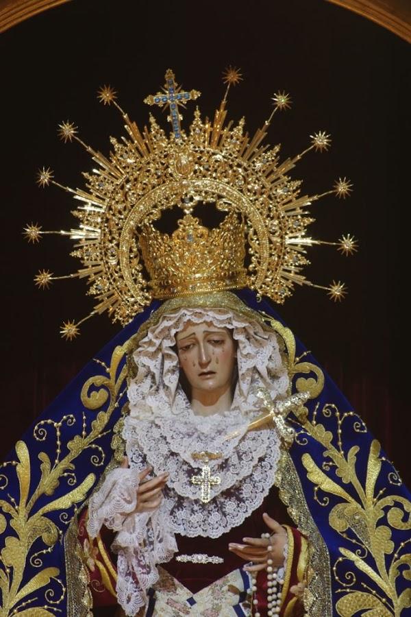 Horario e Itinerario traslado de María Santísima de la Estrella a la Catedral. Málaga 14 de Junio del 2019