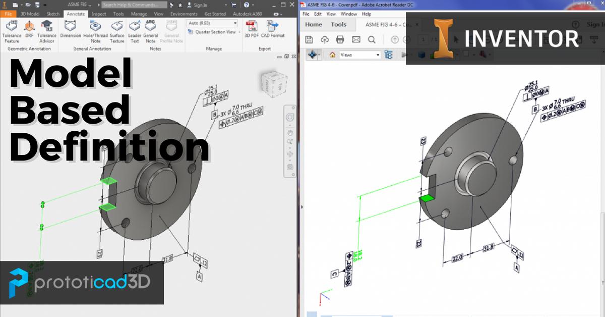 ¿Documentación 3D? ¡Ahora es posible con la integración MBD en Autodesk Inventor!