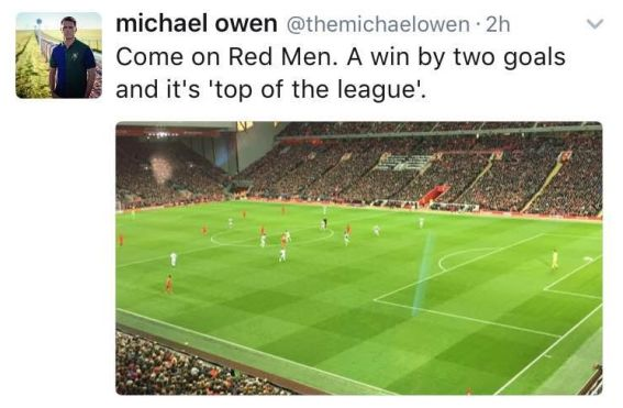 Wayne Rooney calls out Michael Owen on Twitter, questions his loyalty