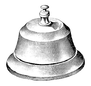 bell vintage illustration