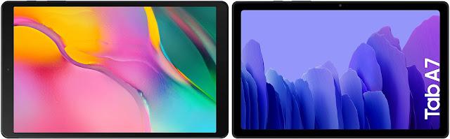 Samsung Galaxy Tab A 10.1 (2019) vs Samsung Galaxy Tab A7 10.4 (2020)