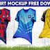 🔥🔥🔥 Photoshop CC 2020 Tutorial_Nike Football Shirt Mockup PSD Free Download by M Qasim Ali🔥🔥🔥