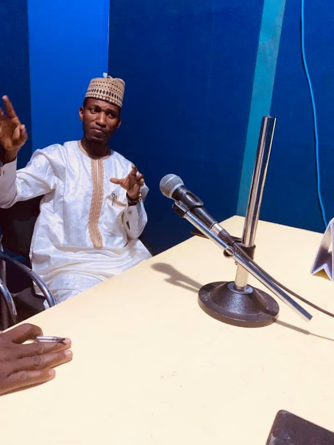 Traditional Medicine Program with Dr. Adamu Ahmad Bunkau at Freedom Radio, Kano