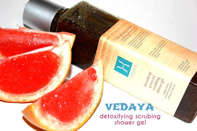 Отзыв: Красота по-индийски. Полирующий гель-скраб для тела Зелёный чай VEDAYA.