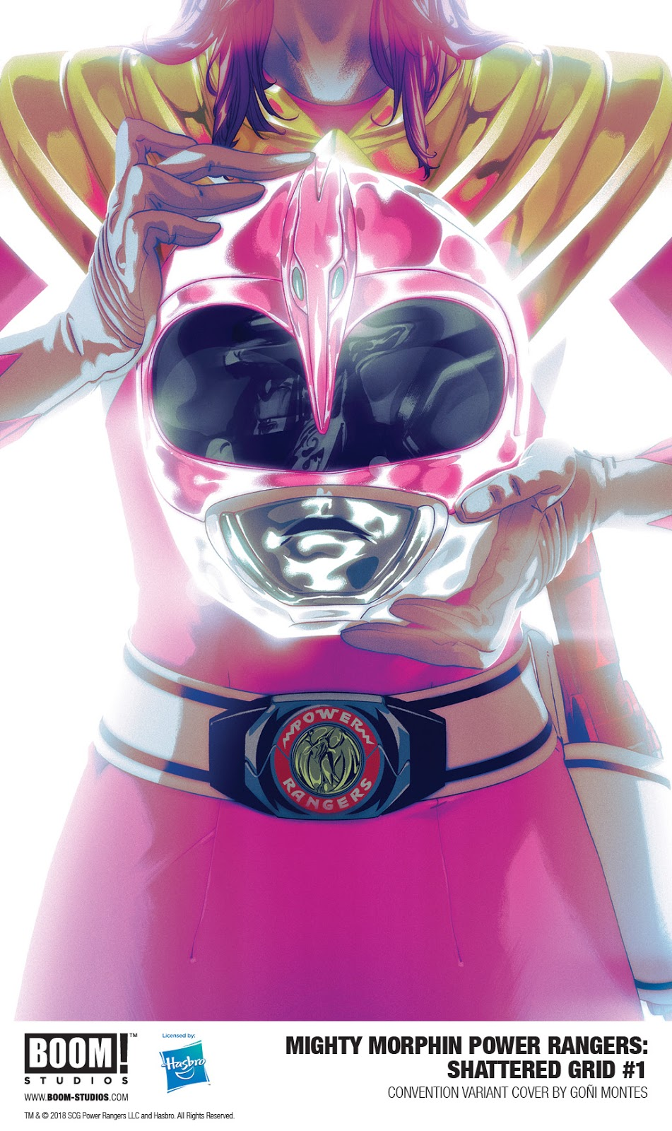 MIGHTY MORPHIN POWER RANGERS: SHATTERED GRID #1