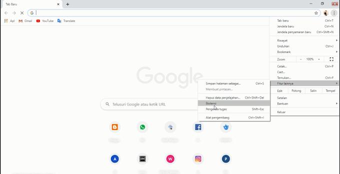 Mengatasi IDM Hilang dari Google Chrome