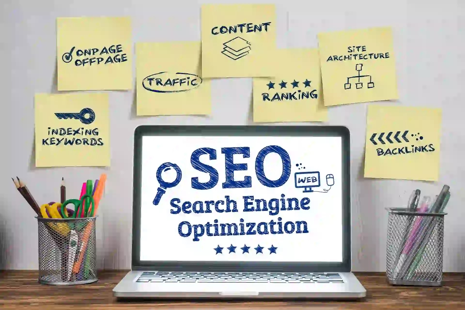 components for seo for successful campaign