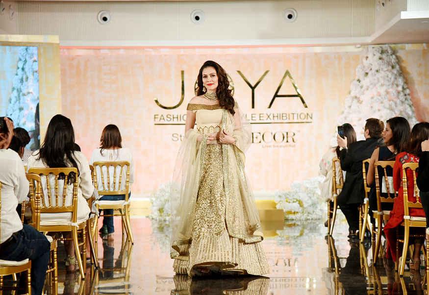 Urvashi Rautela walks The Runway at Joya Fashion Show In Mumbai