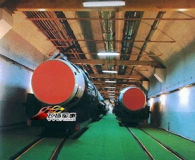 www.fertilmente.com.br - Imagem vazada de ogivas nucleares dentro da Muralha Subterrânea da China