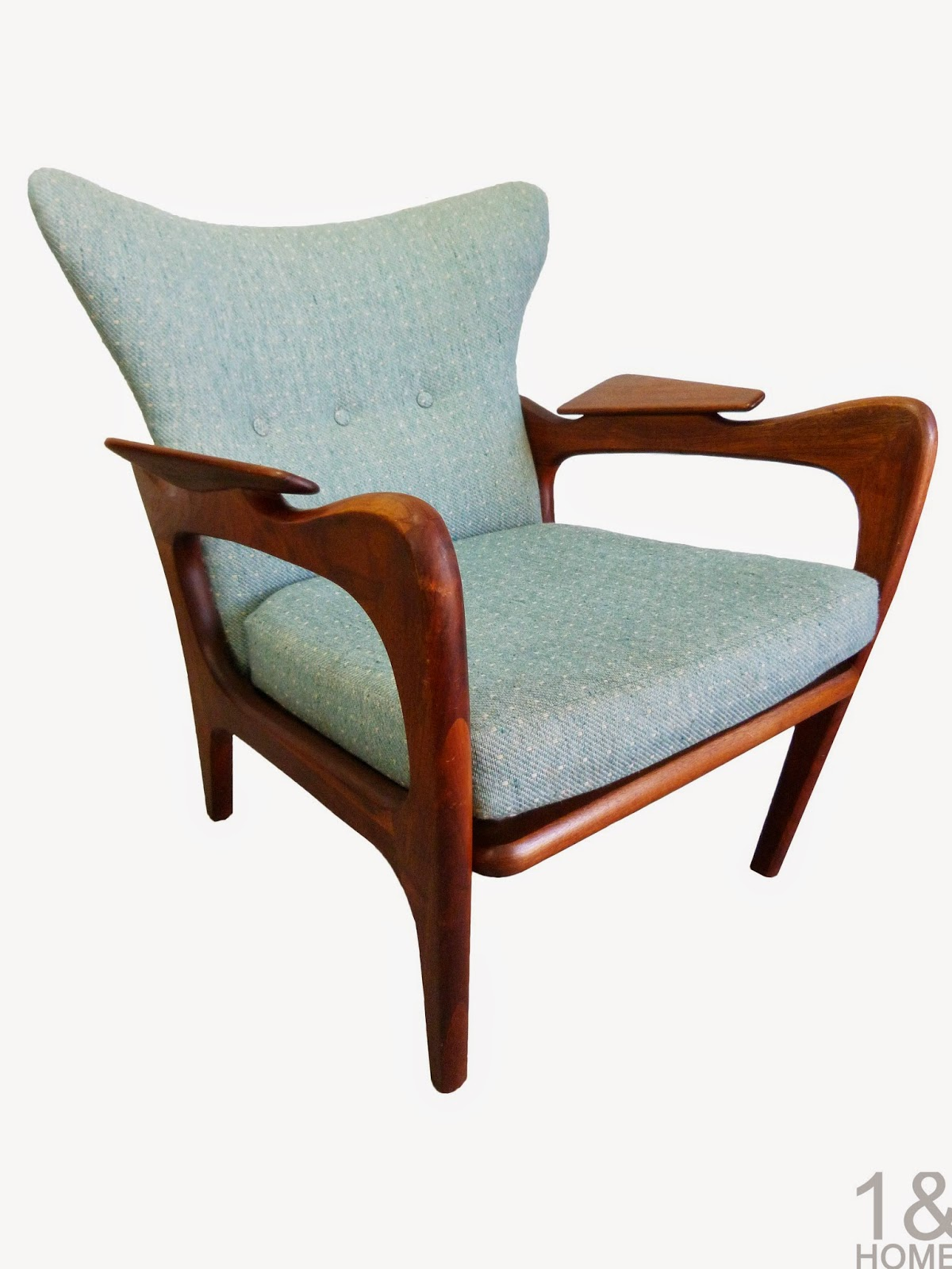 Adrian Pearsall Lounge Chair Adult Saucer Modern Mid Century Danish Vintage Furniture Shop Used