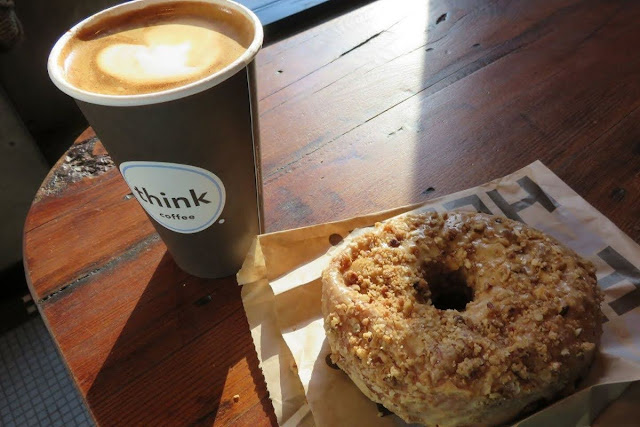 High Line Coffee recommendation: Think Coffee and doughnut in New York City near the High Line