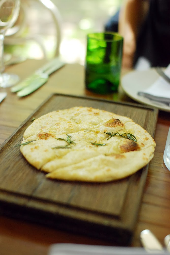 Chiswick Restaurant NSW Collective Menu Rosemary Flat Bread