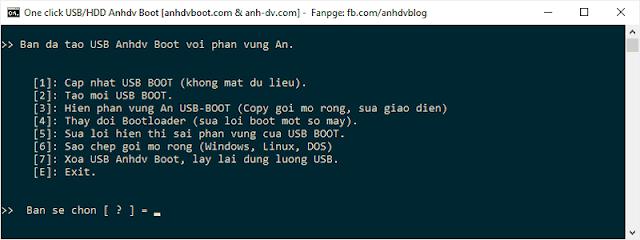 Boot USB UEFI and Legacy