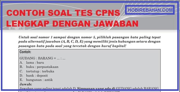 Contoh Soal Skd Cpns 2021 Twk Tiu Dan Tkp Jawabanya Hobi Rebahan