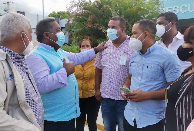 Indesur acompaña al  Gabinete de Políticas Social durante entrega medicamentos en  Independencia
