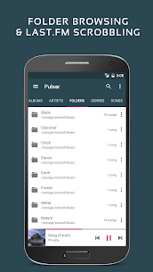 Pulsar Music Player Pro Apk v1.9.5 build 170 [Patched]