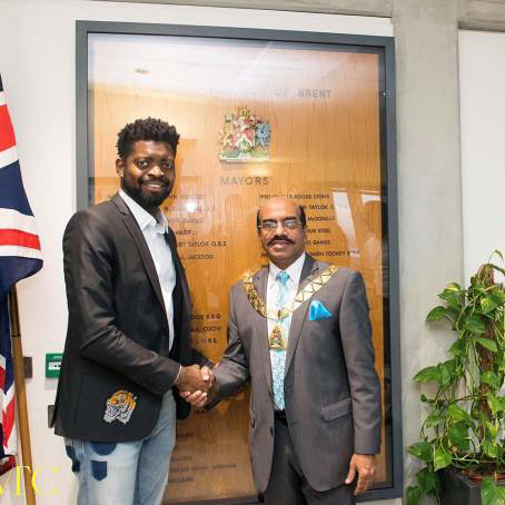Basketmouth Meets The Mayor Of Brent, London