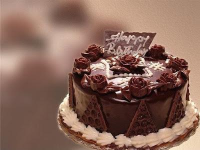 Hình ảnh bánh sinh nhật socola dùng để ặng bạn gái