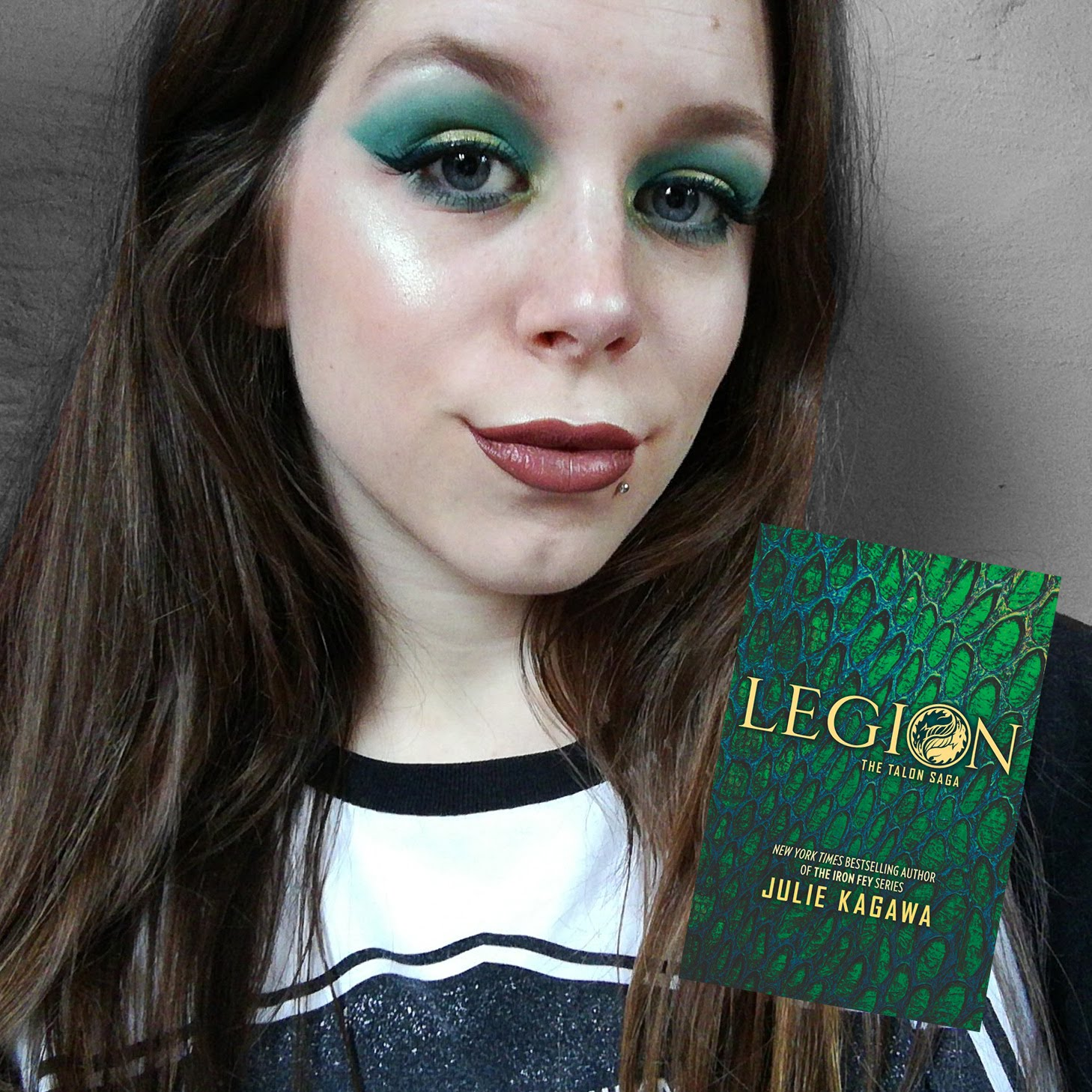 Latest book inspired make-up look!