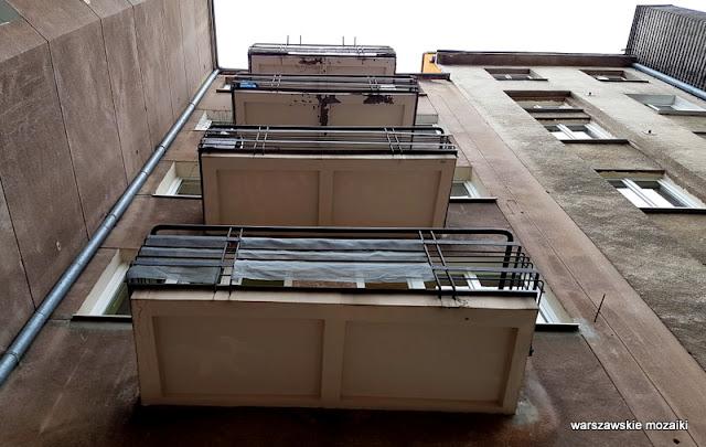 Kamienica Michalskiej Zaborowskiej Zagórskiej Warszawa Warsaw architektura Śródmieście balkon
