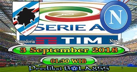 Prediksi Bola855 Sampdoria vs Napoli 3 September 2018
