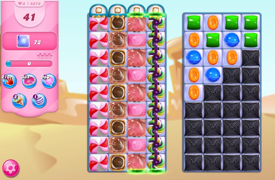 Candy Crush Saga level 8373
