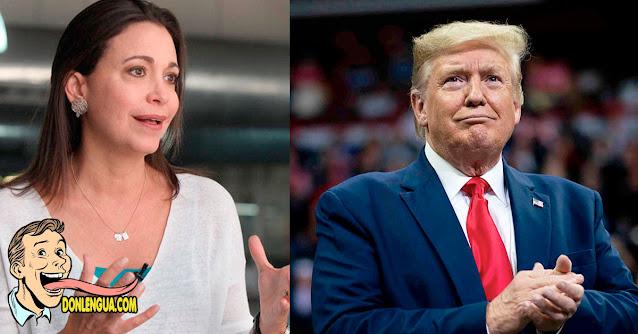 Maria Corina está clara de que Trump es el camino a elegir