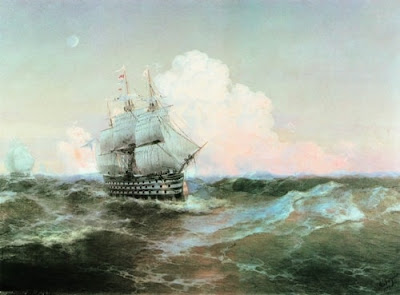 Ivan Aivazovsky Ship twelve apostles 1897