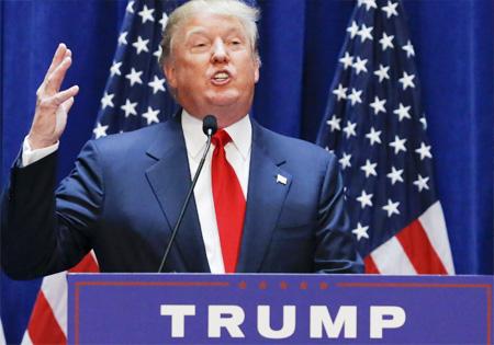 Trump's speech after victory trends in Social Media