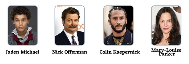 Colin in Black and White Season 1 Cast