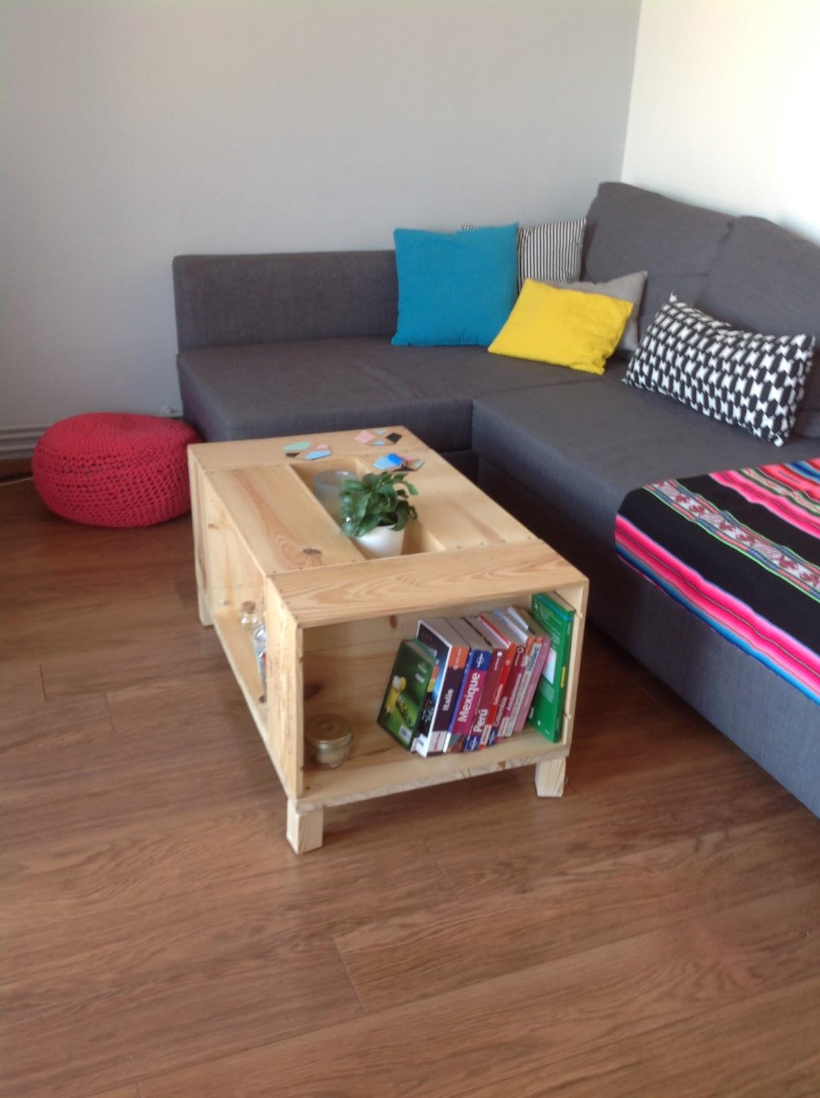 la rosa rose caisses vin ou table basse. Black Bedroom Furniture Sets. Home Design Ideas