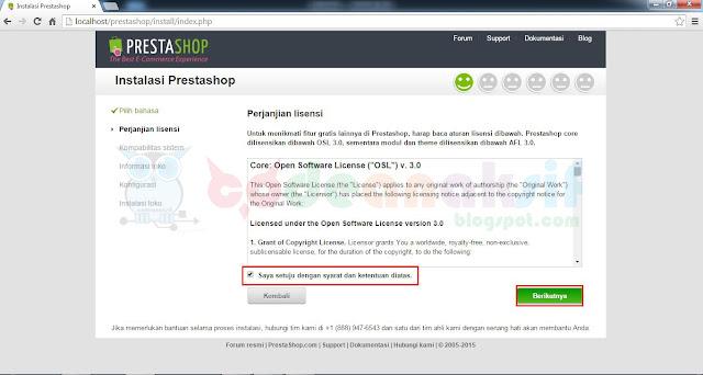 Cara Mudah Install PrestaShop di Localhost Beserta Gambar