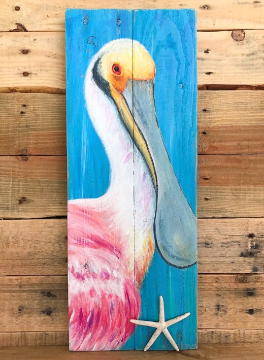 Florida Beach Bird Paintings