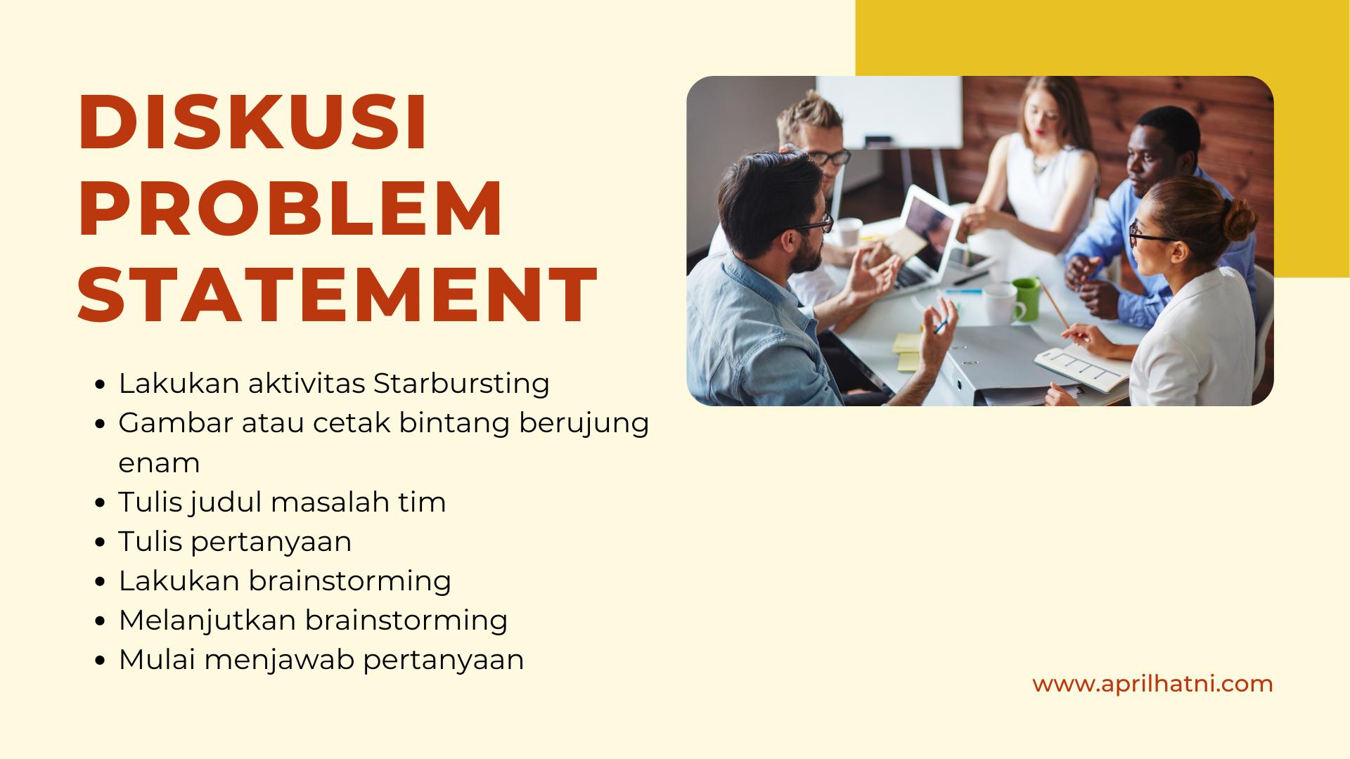 brainstorming problem statemen