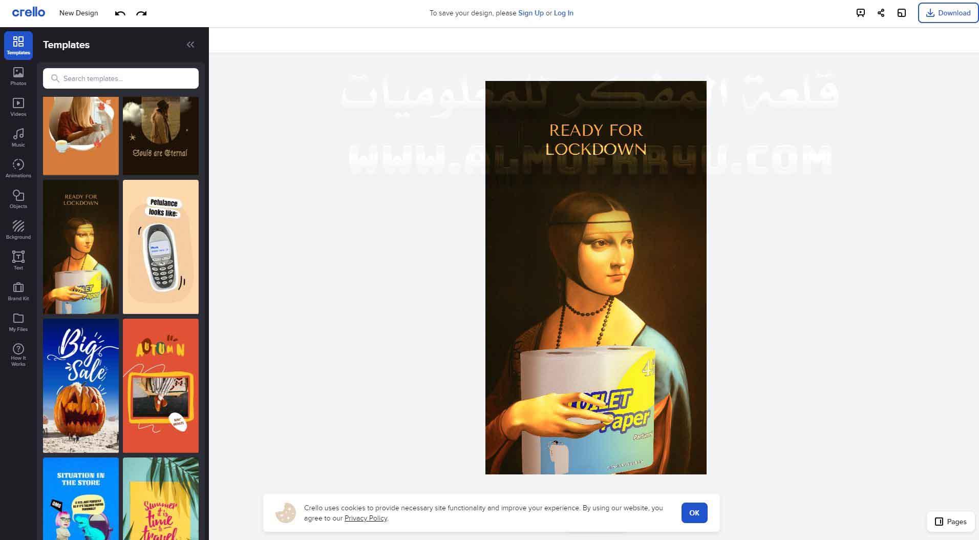 أفضل 8 مواقع تصميم الجرافيك المجانية وإزالة الخلفية من الصور بكل إحترافية
