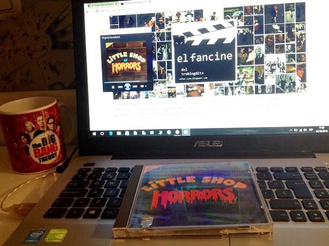 Bandas Sonoras de El Fancine - La tienda de los horrores - Little shop of horrors - Cine Fantástico - Musical - el fancine - el troblogdita - ÁlvaroGP - The Big Bang Theory - Halcón Milenario