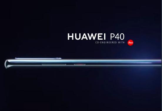 Render Huawei P40