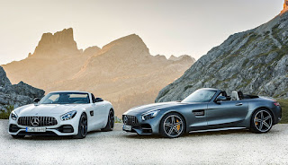 Mercedes-AMG GT Roadster and Mercedes-AMG GT C