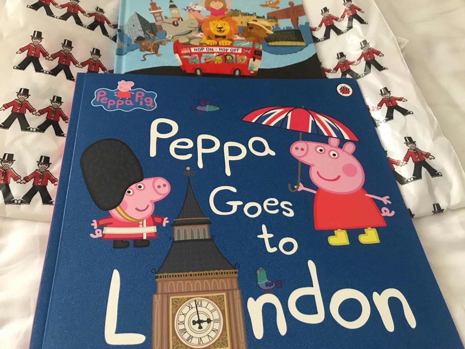 Pipsa Possu Lontoossa -kirja