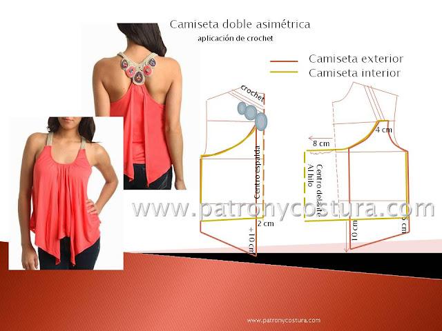 www.patronycostura.com/camiseta-juvenil-doble-asimétrica