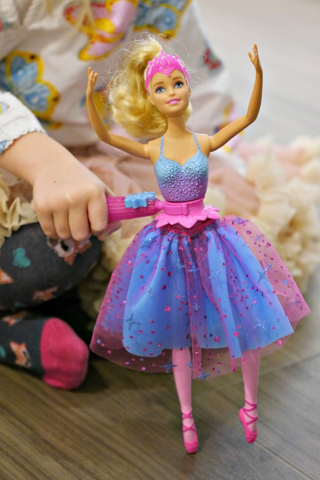 Barbie dance spin ballerina review the mummy diary - Barbie ballerine ...