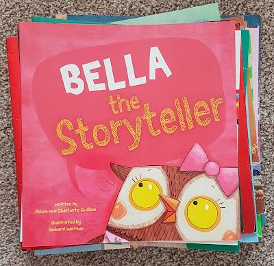 Bella The Story Teller By Adam & Charlotte Guillain