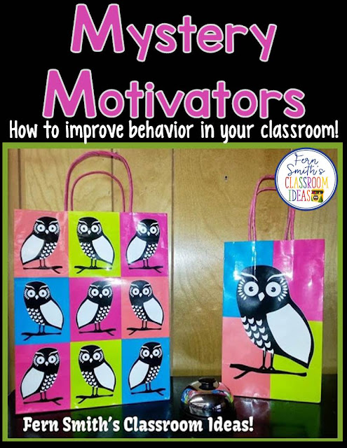 How to improve behavior in our classroom with a very successful mystery motivators idea.
