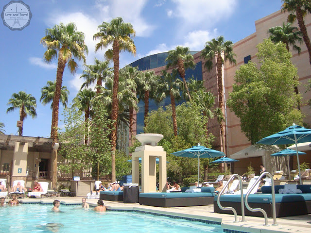 complexo de piscinas do MGM Las Vegas