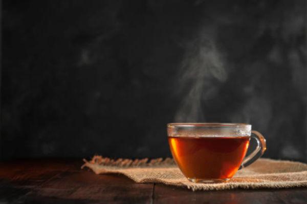 Ready for the festive season, with ... adapted tea