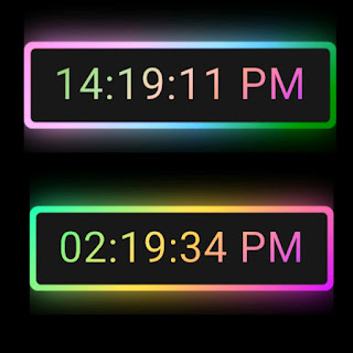 Digital Clock Picture