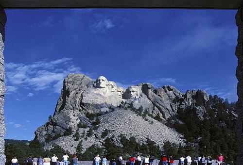 Monte Rushmore Monumento Nacional, Mirador, Parque